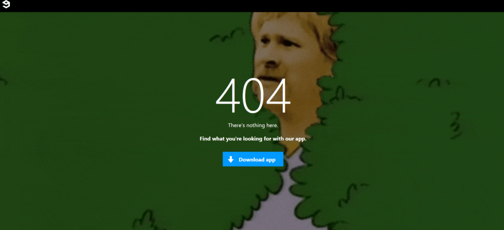 Example of a good Error 404 page: 9Gag