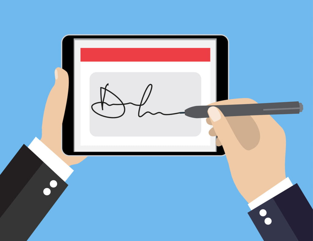 Digital Signatures for Remote Work