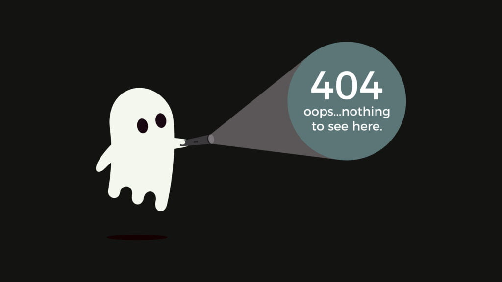 Creating a 404 page requires understanding your audience