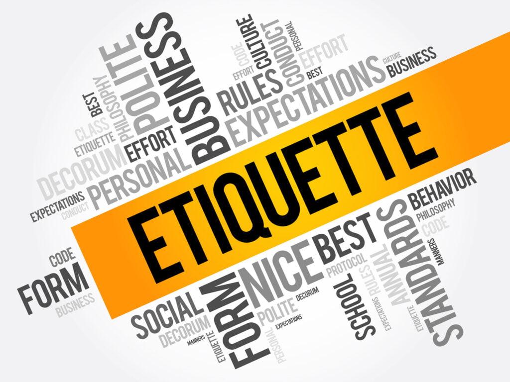 How to avoid business etiquette errors?