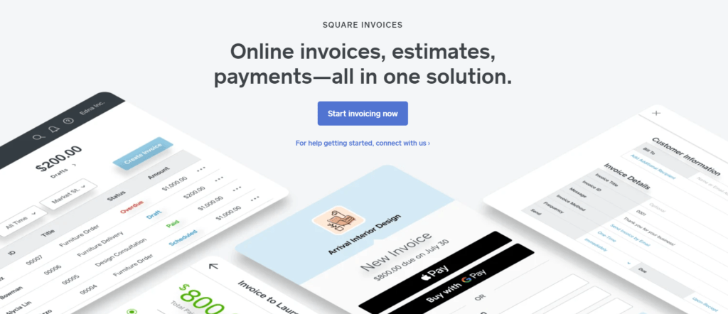 free invoice template PDF files on Square