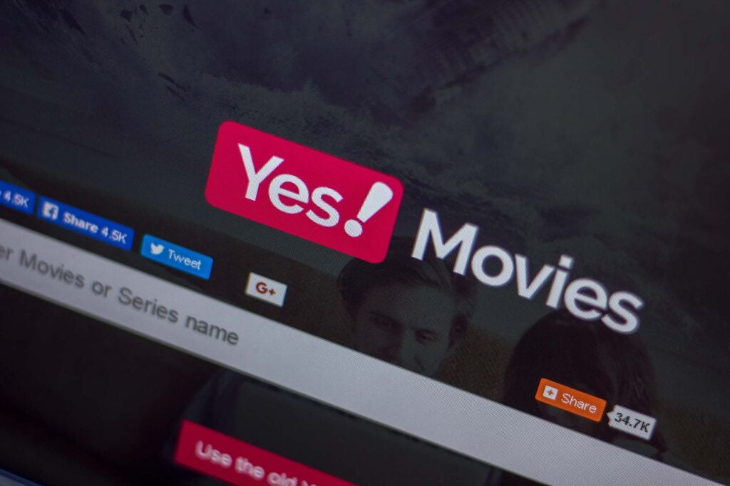 Yesmovies displays reviews and ratings from IMDB