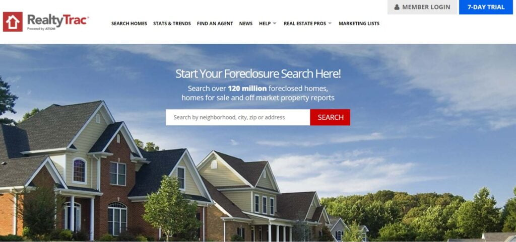 RealtyTrac - the Best Online Real Estate Appraisal Tool