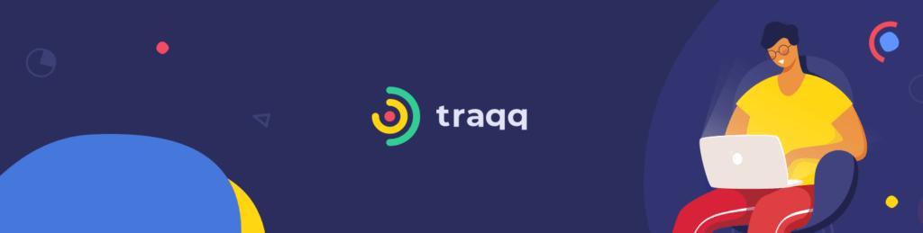 What does Traqq's desktop app do