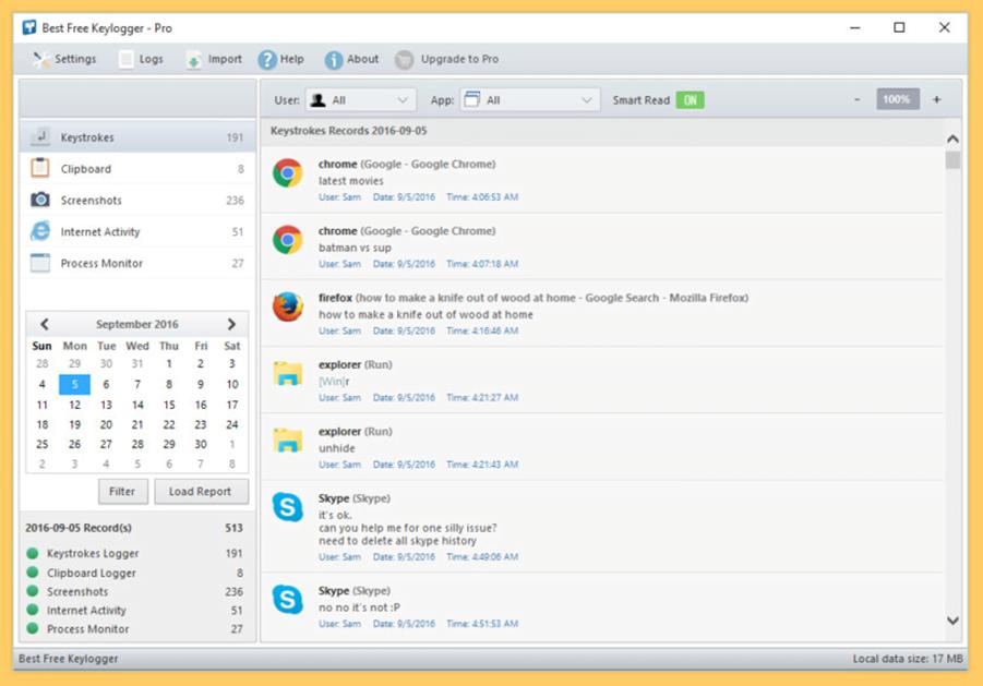 Best Free Keylogger for Employee Monitoring