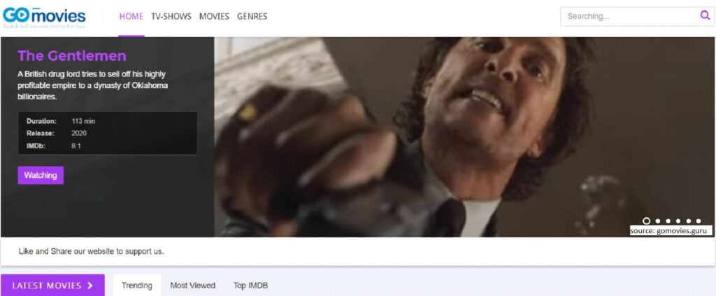 GoMovies -  Putlocker Alternative