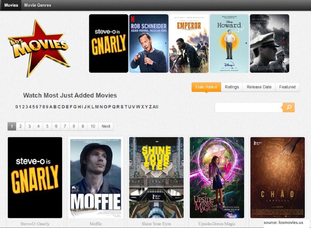 Los Movies  -  Putlocker Alternative