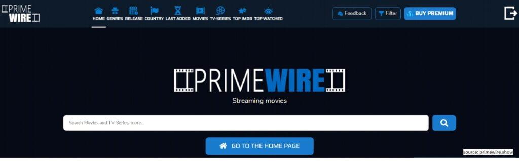 Primewire  -  Putlocker Alternative