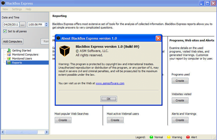BlackBox Security Monitor Express