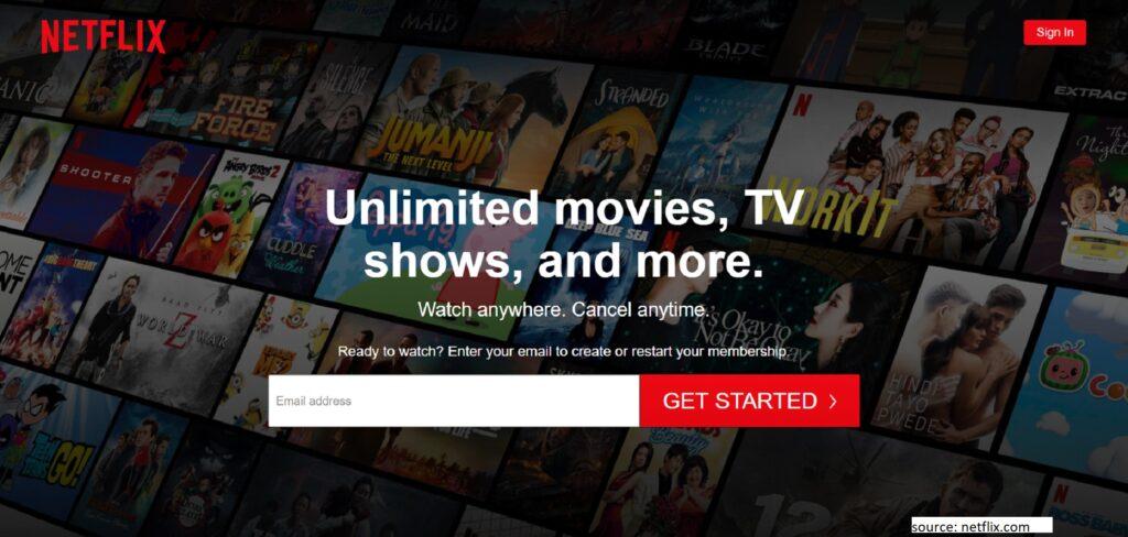 Netflix - Best CouchTuner Alternative