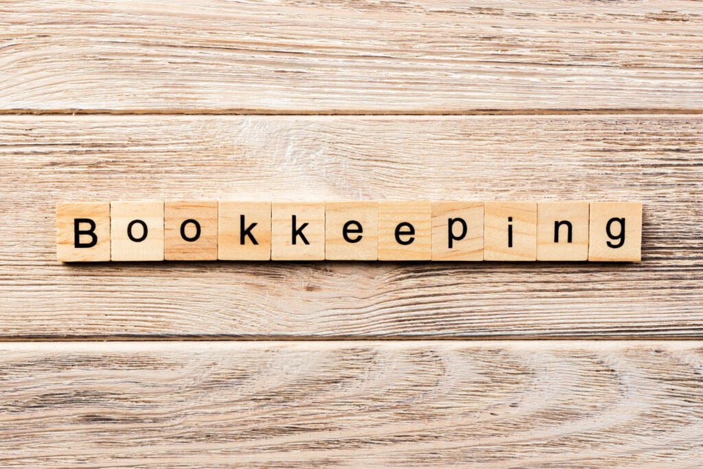 bookkeeper manages expenses and income