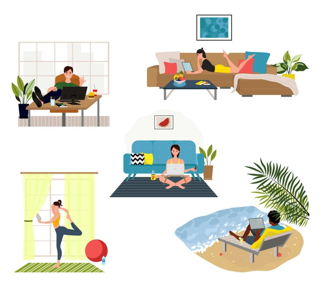Work-From-Home Routine