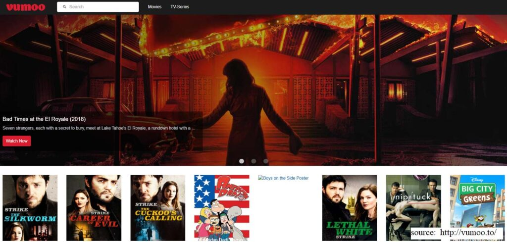 Vumoo - 123movies alternative