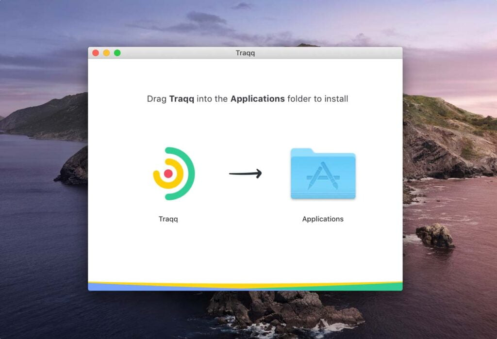 install time tracker on Mac