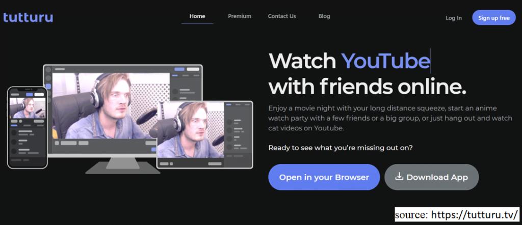 screenshot of website Tutturu
