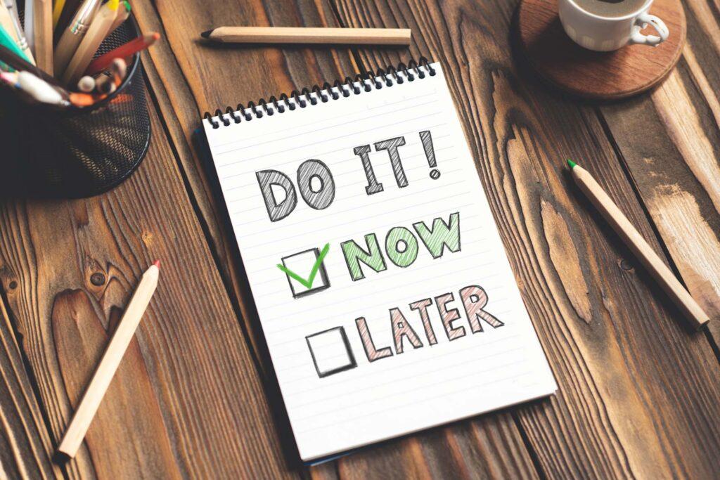 Start Immediately