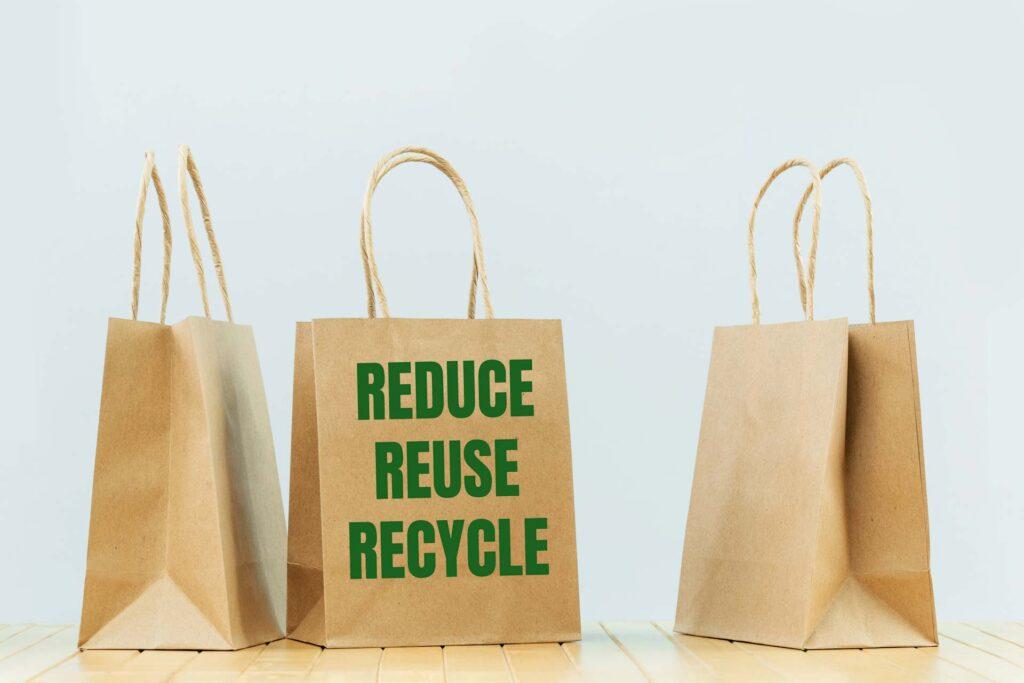 reusing goods