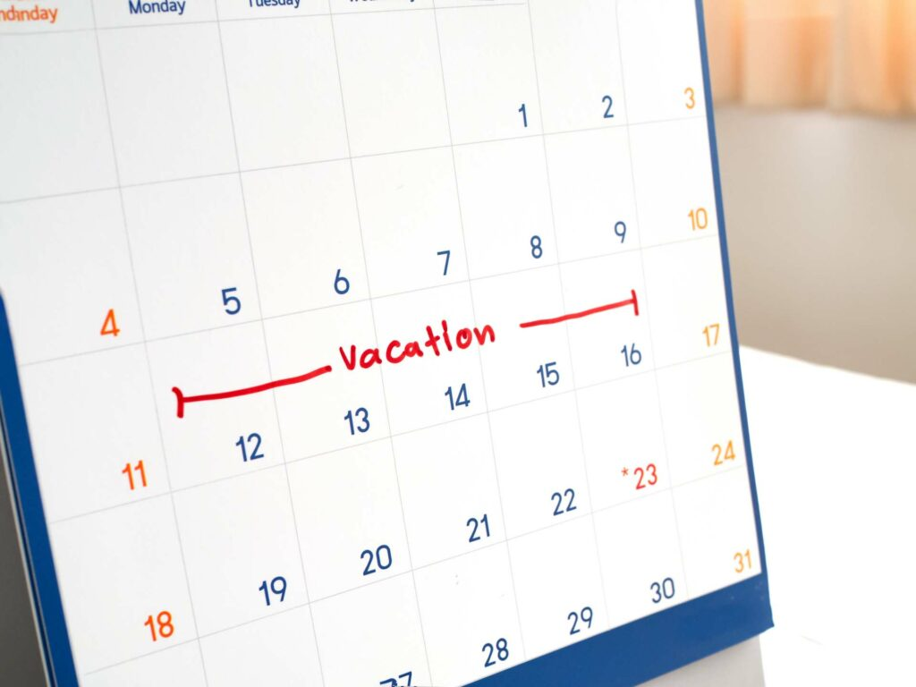 how much time off you can offer