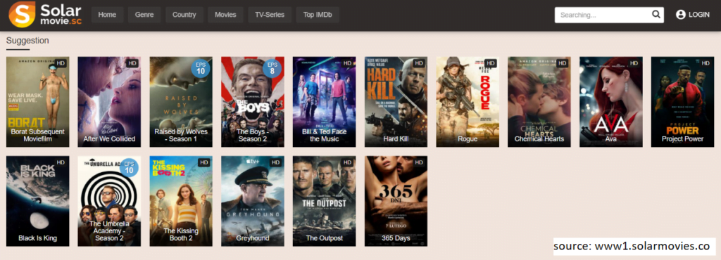 Solar Movies  allows you to watch TV shows online for free