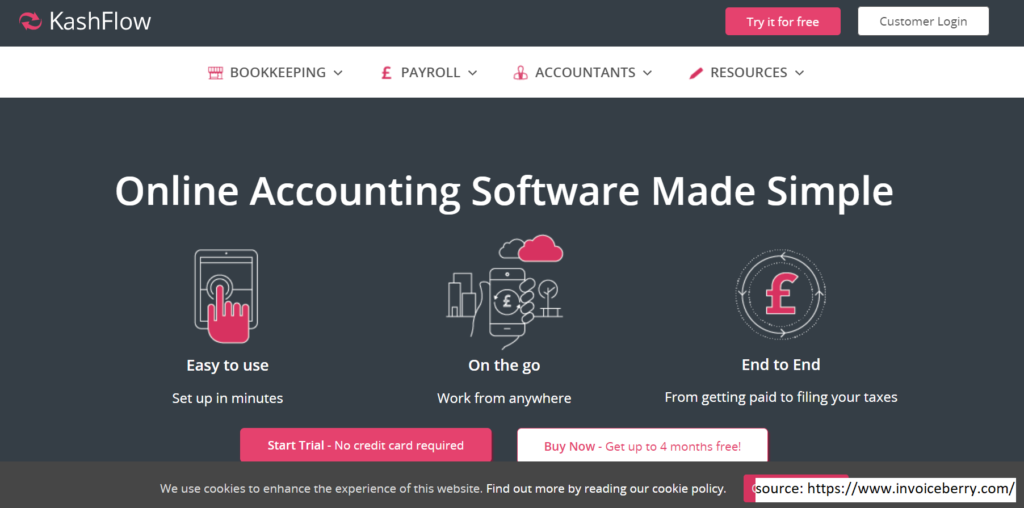 Kashflow  -  Invoicing Software