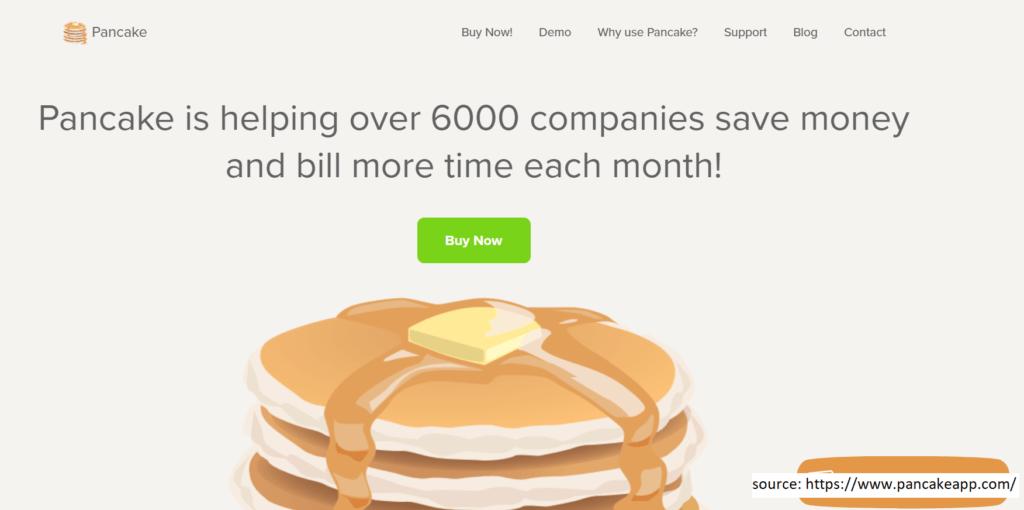 Pancake  -  Invoicing Software