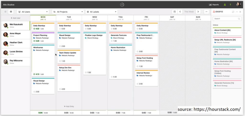 HourStack Productivity Tracker