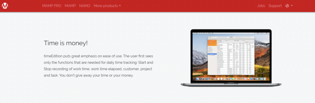 timeEdition - Time Trackers for Mac