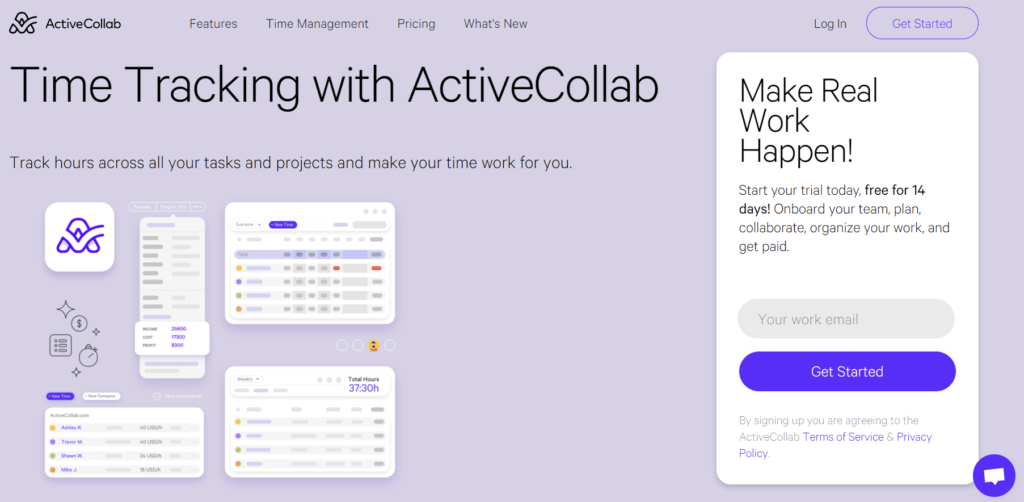 ActiveCollab - time tracker for Windows
