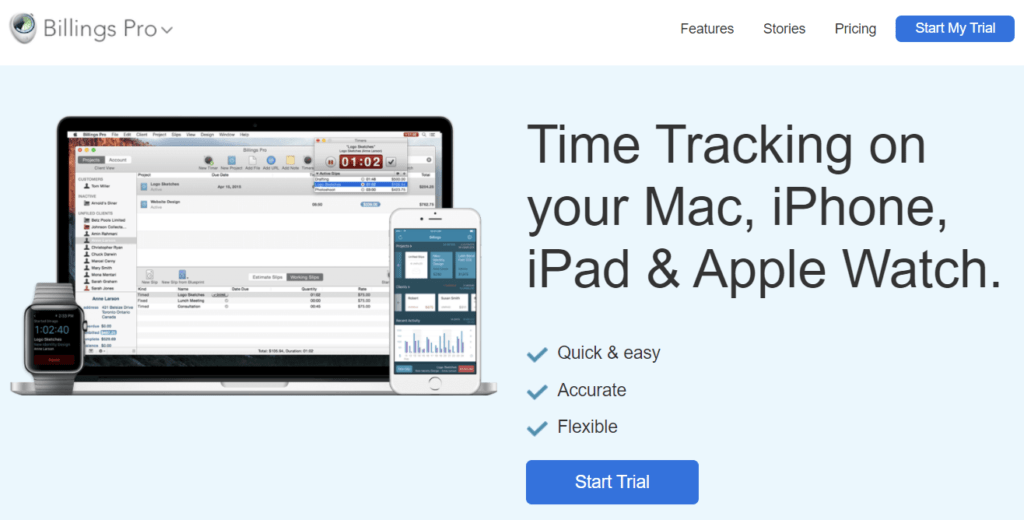 Billings Pro - Time Trackers for Mac