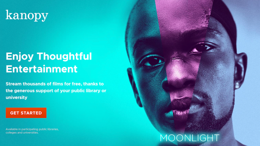 Kanopy allows you to watch TV series online for free