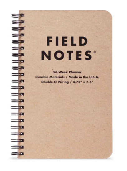 Field Notes' 56-Week Planner