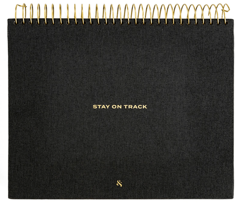 Wit & Delight - Stay on Track Desktop Notepad