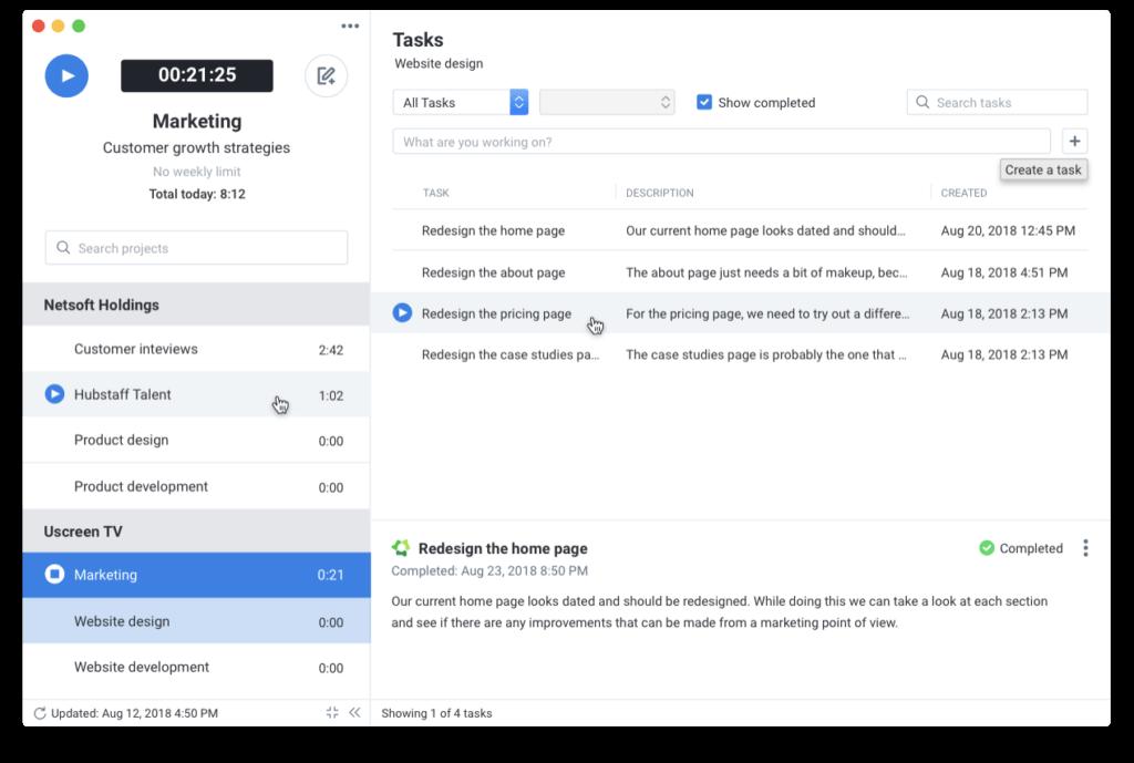 Hubstaff - Time Tracking Software